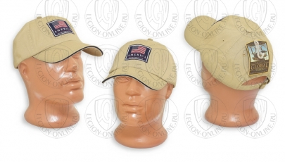 Кепка Washed Twill USA Cap USA31K/N Dorfman Pacific